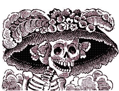 Dia de Muertos Y Halloween