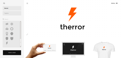 Generador de logos y de controversias therror for Generador de logos